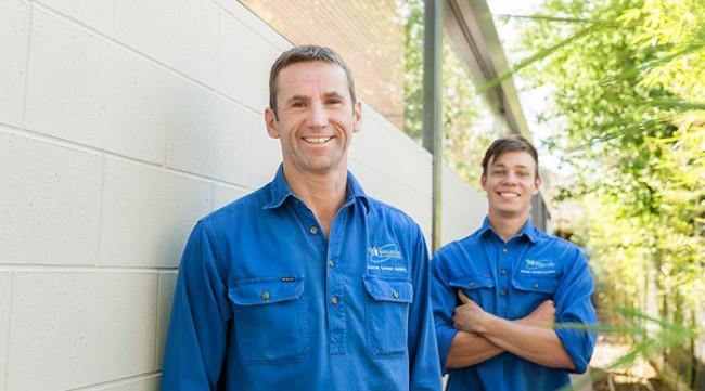 Andrew Matthias & SA Irrigation Apprentice