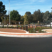 Frome Road Roundabout Landscaping, North Adelaide