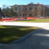 War Memorial, North Terrace, Adelaide - Landscaping