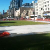 War Memorial, North Terrace Adelaide - Irrigation